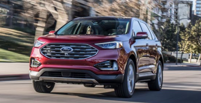 2020 Ford Edge Exterior