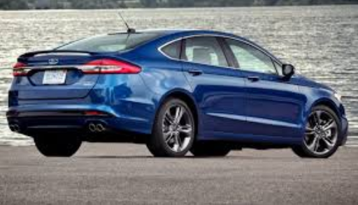 2020 Ford Fusion Exeterior