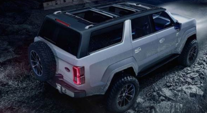 2021 Ford Bronco 4 Door Exterior