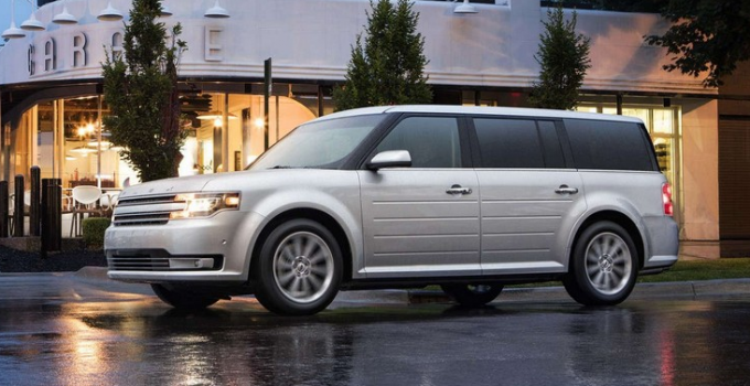 2020 Ford Flex Limited Exterior